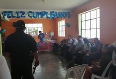 Cañete: Policía interviene local donde realizaban fiesta infantil sin importarles estado de emergencia | VIDEO