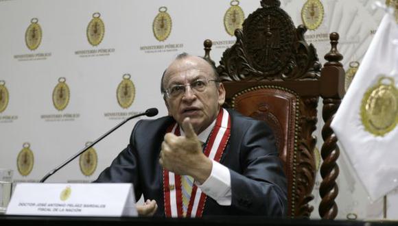 Fiscal de la Nación, José Peláez, tomó su decisión después de recibir el informe de Rivera Hererra. (USI)