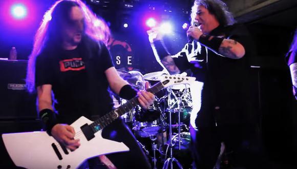 Exodus y Ratos de Porao ofrecerán un concierto este 8 de septiembre en la capital. (Foto:Black Star Entertainment )