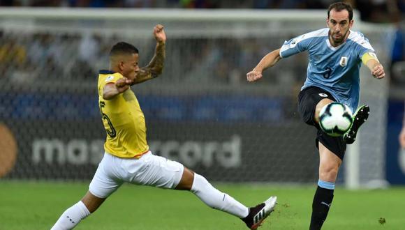 Ecuador vs. Uruguay se miden en la segunda jornada de las Eliminatorias Qatar 2022. (Foto: AFP)