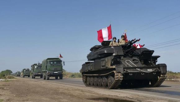 Hay tanques en la frontera