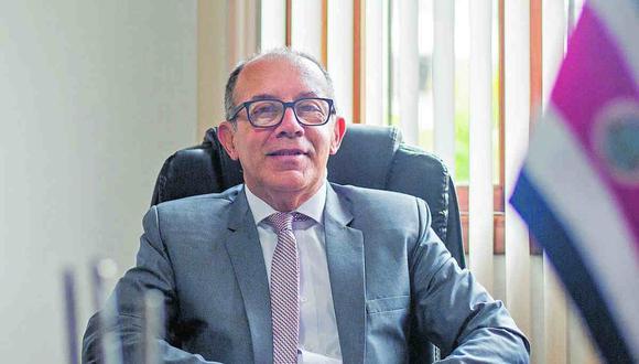 Ebajador de Costa Rica aspira a que se mantengan y enriquezcan las relaciones bilaterales con Perú. (Difusión)
