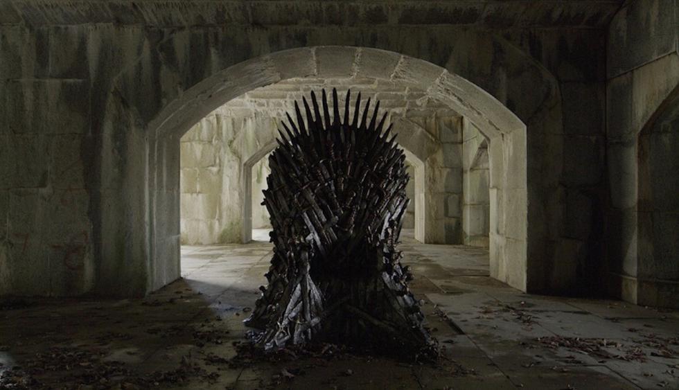 """""""Game of Thrones"""": Fans encontraron los seis tronos de hierro escondidos (Foto: Instagram)"""