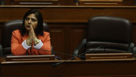 Ana Jara necesitó del voto de dos ministros. (USI)