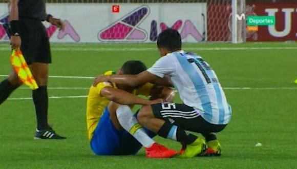 (Captura de pantalla Movistar Deportes)