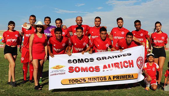 Juan Aurich jugará en la Liga 2 esta temporada. (Foto: Facebook Juan Aurich)