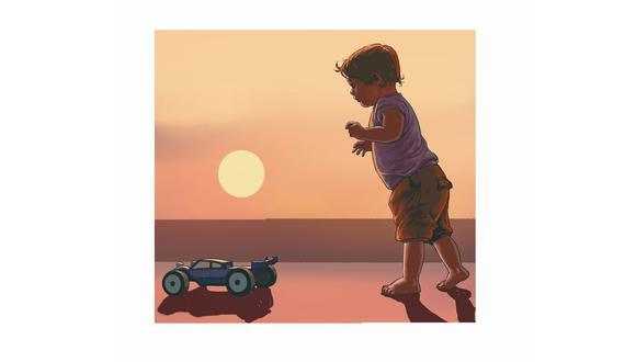Última entrega de 'El dedo en el disparador', de Miguel Ruiz Effio. Premio Copé Oro 2020. Ilustrado por Mechaín.