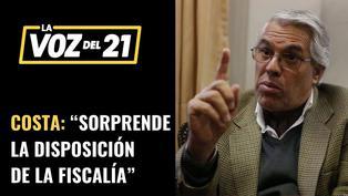 Gino Costa habla sobre detenciones a extrabajadores de Palacio de Gobierno