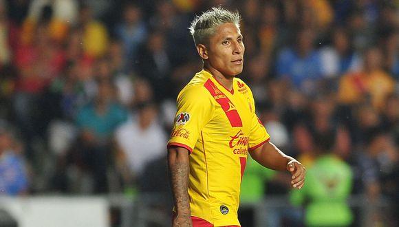 Raúl Ruidíaz lleva 11 goles en lo que va del Apertura con la camiseta del Monarcas Morelia. (AFP)