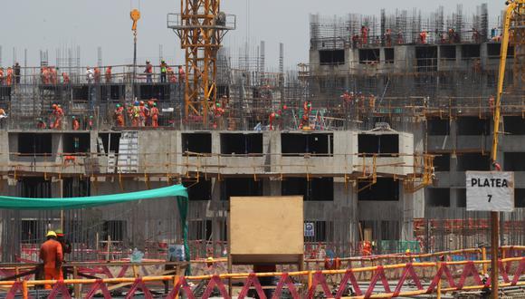 La villa olímpica de los Panamericanos Lima 2019 se encuentra en construcción (Foto: USI)