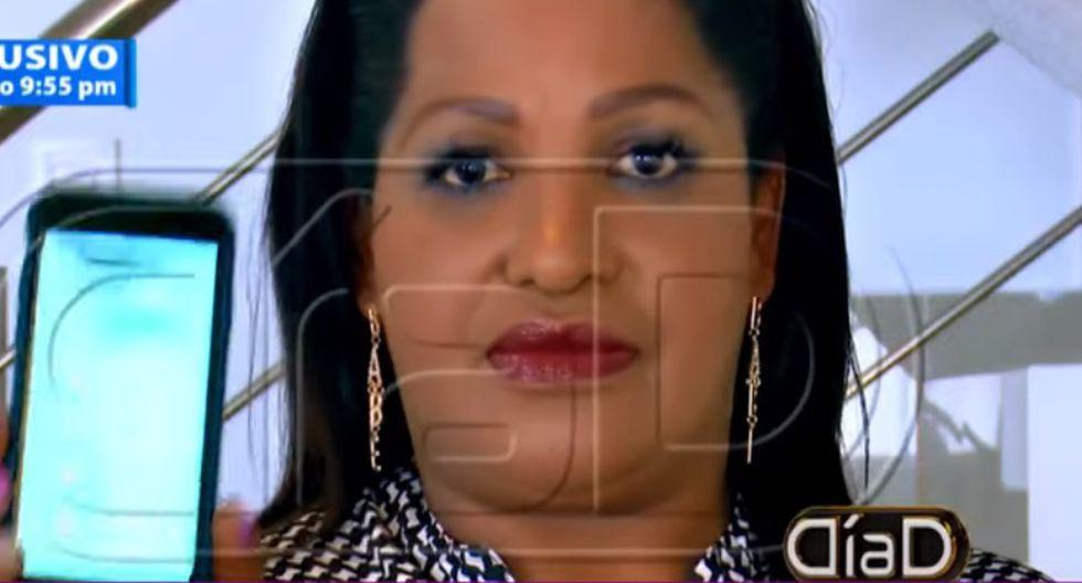 Madre de Jefferson Farfán difundió audios que comprometen a Melissa Klug. (Foto: Captura ATV)