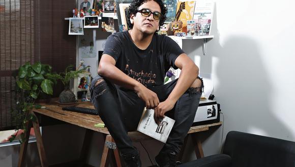Pierre Castro, escritor. (Foto: Jesús Saucedos)