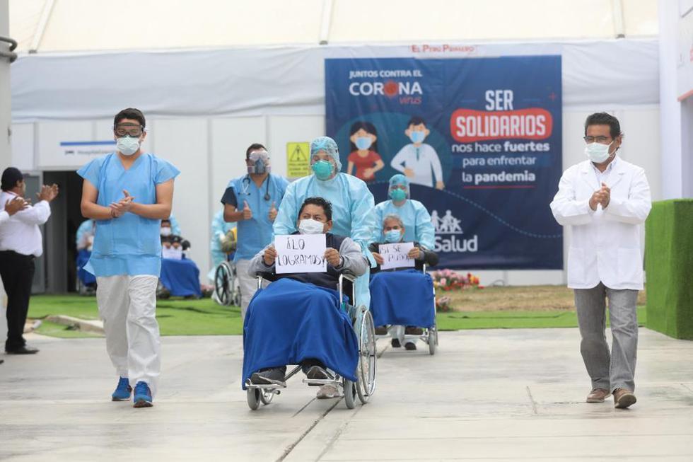 Los pacientes fueron internados en los hospitales que forman parte de la Red Prestacional Sabogal de EsSalud.