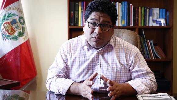 """Espinoza afirma que a algunas agrupaciones """"les traicionan sus miedos porque presumen que sus candidatos serán sentenciados"""", (Foto: GEC)"""