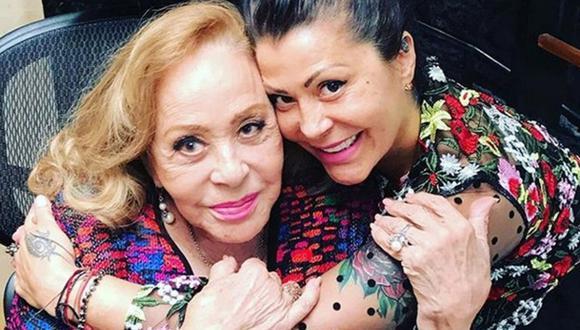 Silvia Pinal, de 89 años, mejora tras ser hospitalizada el domingo 27 de junio. (Foto: @alejandrabaigorria).