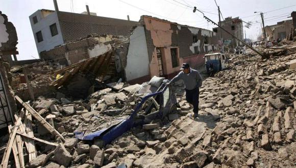 Sismo de Ica reveló la poca importancia que se le da a las labores de prevención de desastres. (Perú21)