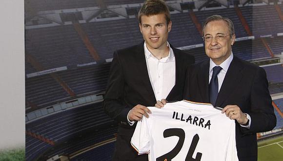 Illarramendi jugó antes en el Real Sociedad. (EFE)