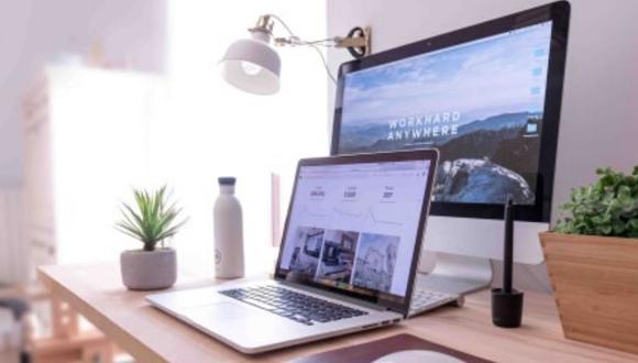 Si vas a trabajar desde casa, ten un espacio ordenado. (Foto: Urbania)