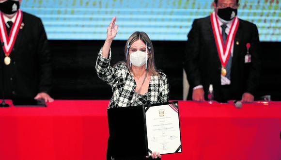María del Carmen Alva de Acción Popular será la nueva Presidenta del Congreso. (Foto: César Campos/GEC)
