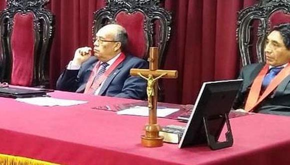 Jueces Luis Leguía, Tito Gallegos y Tony Changaray dieron rienda suelta a teorías de conspiración en fallo judicial (Poder Judicial).