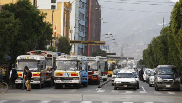 POCO SERIO. Proceso genera grandes dudas a los transportistas. (Luis Gonzales)