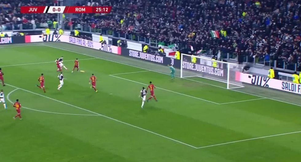 Gol de Cristiano Ronaldo en el Juventus vs. Roma por la Copa Italia