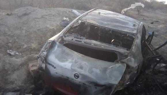 Piura: la Policía Nacional inició las pesquisas para determinar las causas de la colisión que cobró la vida de una persona. (Foto: Difusión)