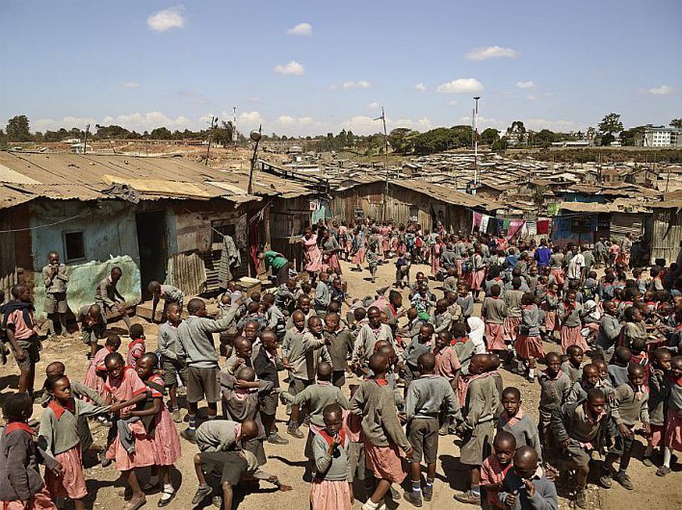 Valley View School, Mathare, Nairobi, Kenia. (James Mollison)