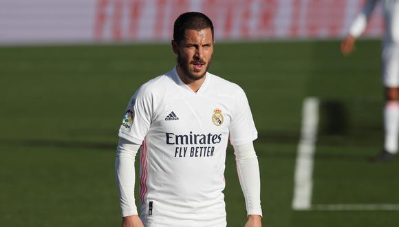 Eden Hazard se pierde el Real Madrid vs. Barcelona por LaLiga. (Foto: EFE)