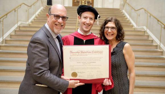 El creador de la red social más popular del mundo por fin se gradúo de Harvard (Facebook: Mark Zuckerberg)