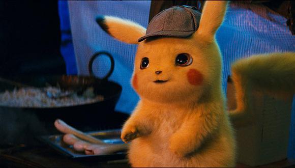 Ryan Reynolds es el encargado de darle voz al detective Pikachu. (Foto: Warner Bros.)