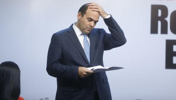 A la cabeza. El presidente del Consejo de Ministros, Fernando Zavala, será quien presida el encuentro. (Mario Zapata)