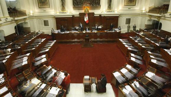 Congreso volvió a ampliar la legislatura. (Mario Zapata)