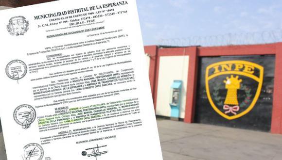 El INPE firmó un convenio con el municipio de La Esperanza y la empresa Tele Taxi, de propiedad de Jean Pierre Denisse. (USI)