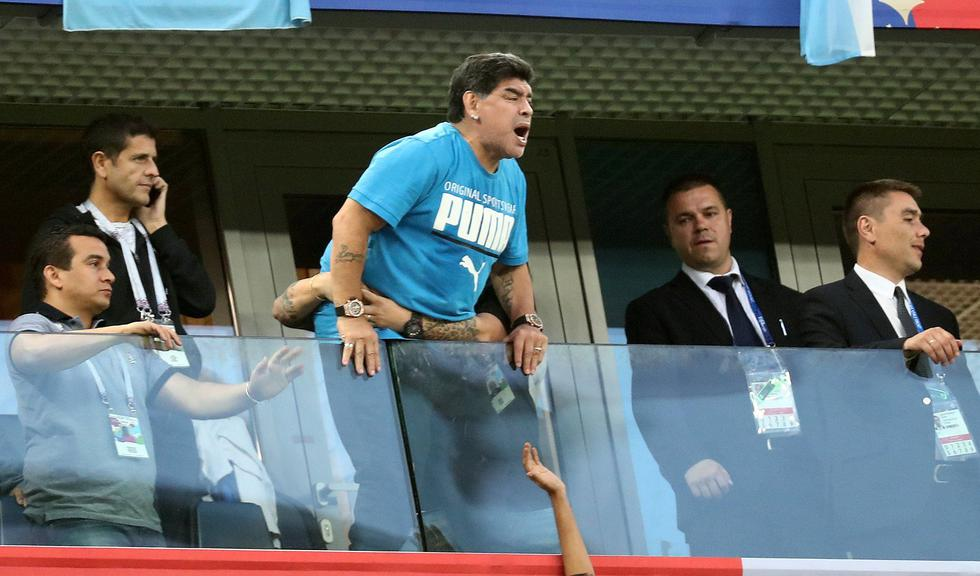 Diego Maradona (Reuters)