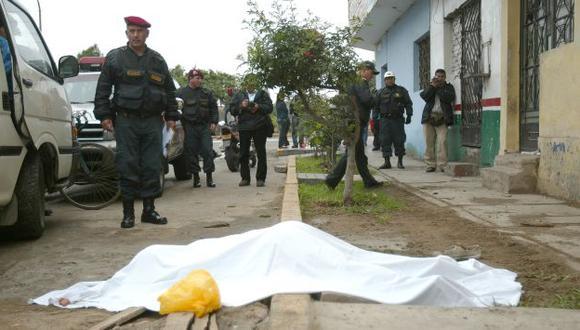 Víctima era un vigilante de origen cajamarquino. (Perú21/Referencial)