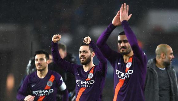 Manchester City remonta 3-2 ante el Swansea y clasificó a semifinales de la FA Cup. (Getty Images)