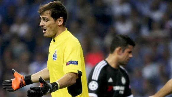 'A veces, te la comes con patatas', dijo el portero Casillas. (EFE)