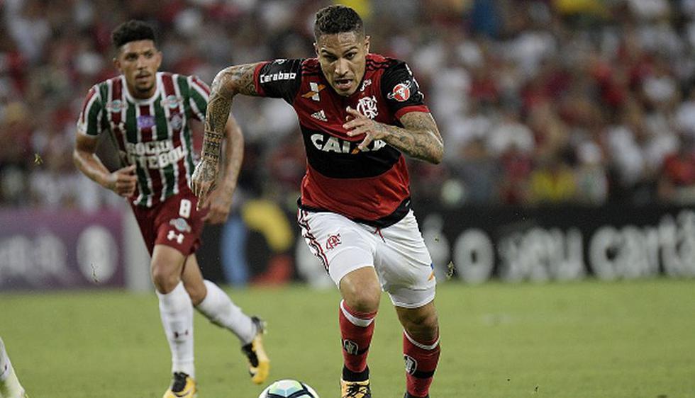 Paolo Guerrero es actual atacante del Flamengo de Brasil. (Getty Images)