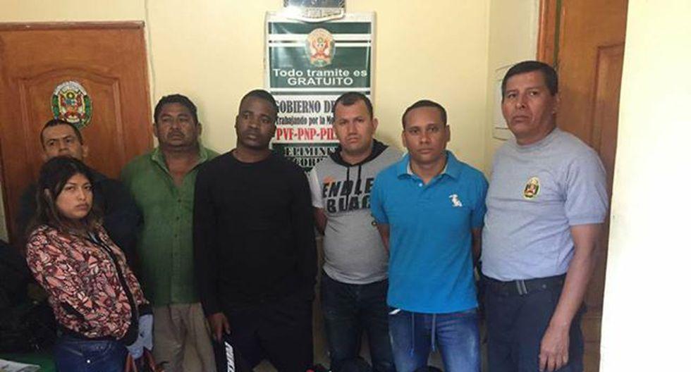 Llegaron desde Ecuador y fueron detenidos con la droga.