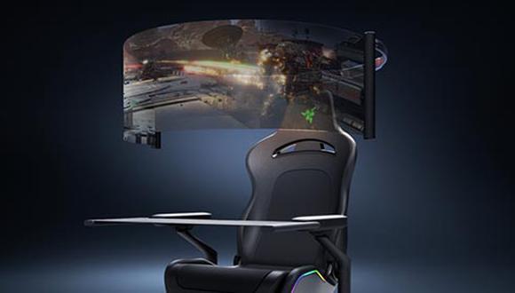 Razer presentó su evolución al concepto de silla la cual contará con grandes innovaciones.