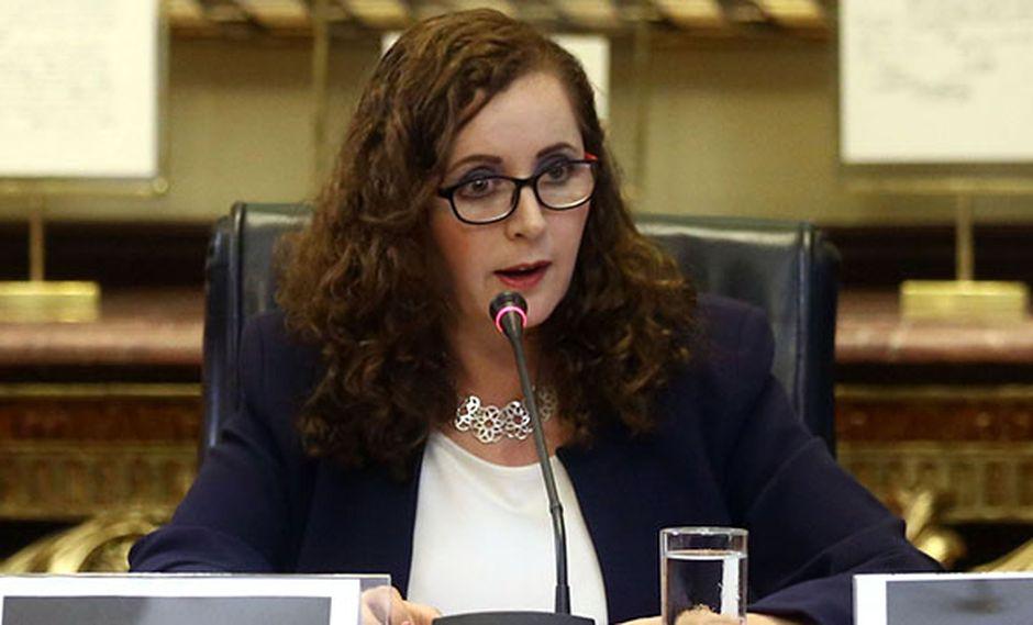 """""""[Lo hallado por la fiscalía] no es un documento de la Comisión Lava Jato ni en forma, ni en fondo, ni en contenido, ni en nada"""", señaló Rosa Bartra  ( Foto: Agencia Andina)"""