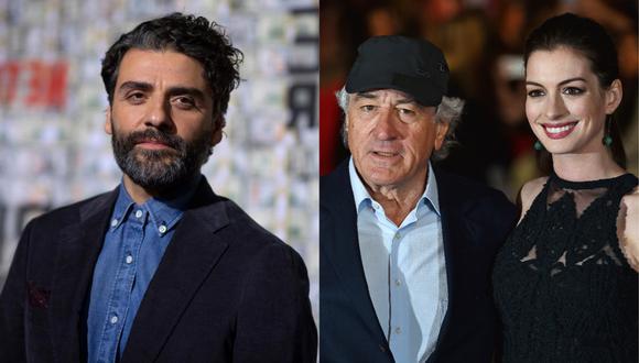 """Óscar Isaac, Robert de Niro y Anne Hathaway se suman al reparto de """"Armageddon Time"""". (Foto: AFP)"""