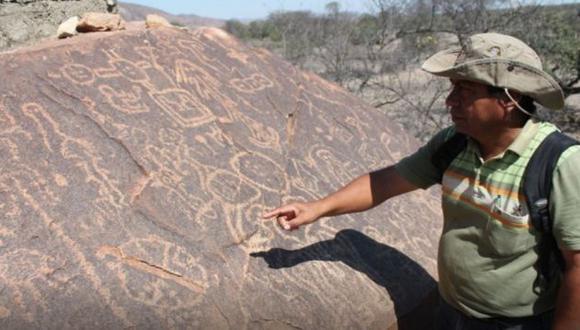 Monumento arqueológico tendría entre 3,500 y 4 mil años de antigüedad. (Andina)