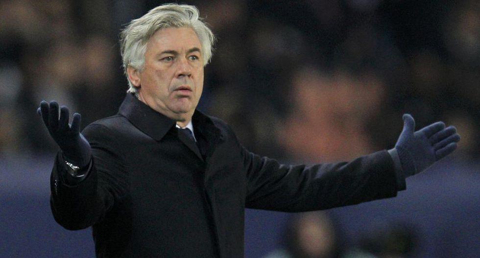 Carlo Ancelotti (Paris Saint Germain) 13,5 millones. (Reuters)