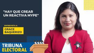 "Grace Baquerizo: ""Hay que crear un Reactiva Mype"""