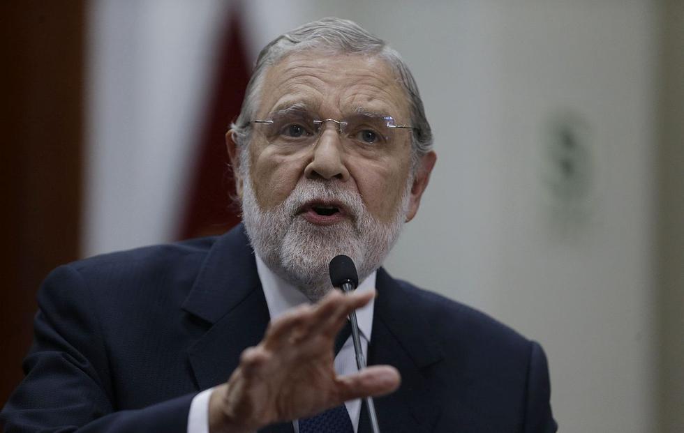 El presidente del Tribunal Constitucional, Ernesto Blume, aseguró que actuarán con imparcialidad. (Foto: USI)