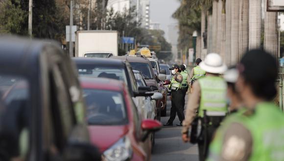 La medida busca evitar que la ciudadanía se traslade de un distrito a otro. Fotos: Leandro Britto / @photo.gec
