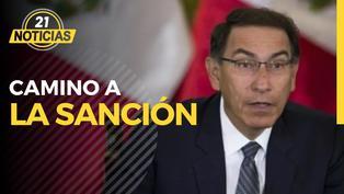 Martín Vizcarra va camino a la sanción por caso Vacunagate