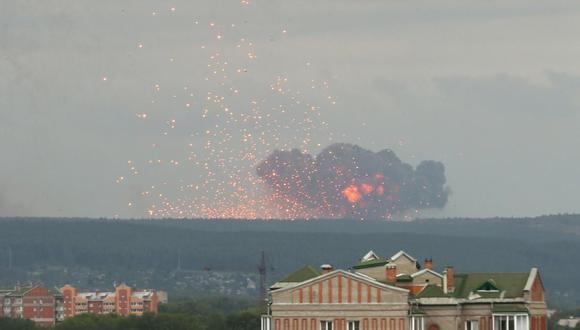 La de Nionoska es una base militar de pruebas de misiles de la flota rusa, inaugurada en 1954. (Foto referencial: Reuters)